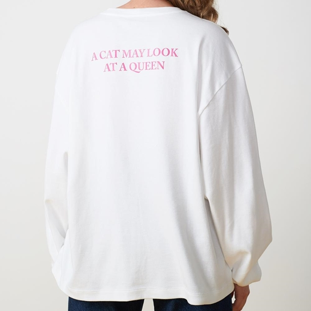 Twenty Seven Names Purpose Long-Sleeved Tee - white