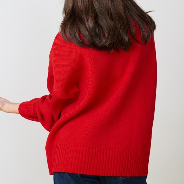 Twenty Seven Names Hillary Sweater - red