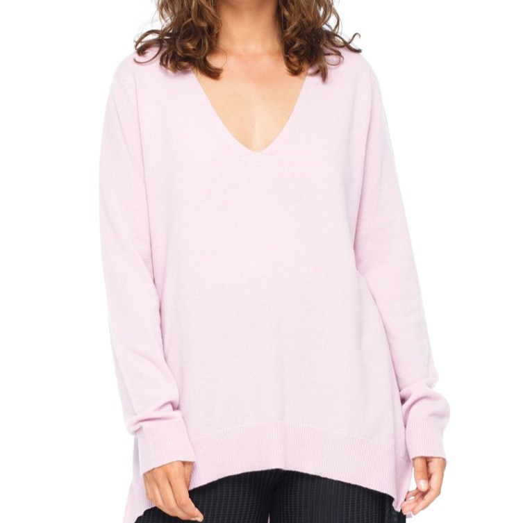 Blak Heal Sweater - violet pink