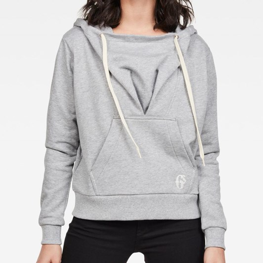 G-Star Sofe Boyfriend Drape Hooded Sweat