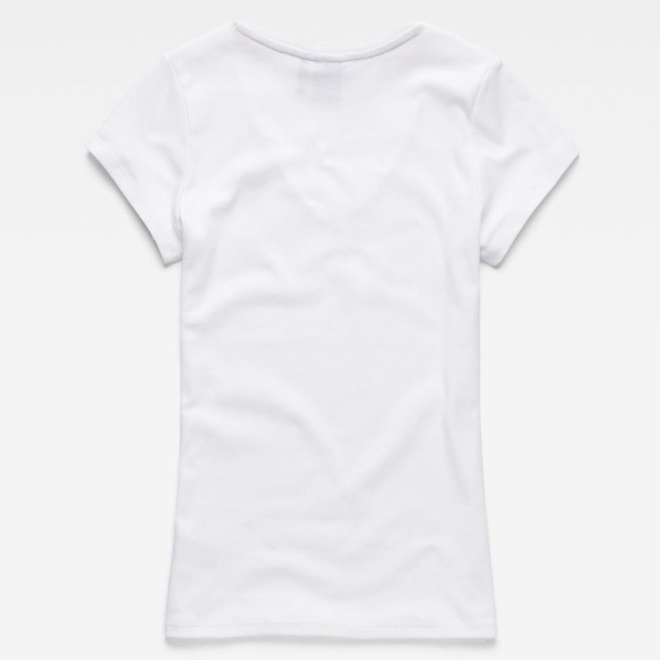 G-Star Graphic 51 Slim V T-Shirt Wmn S\S -