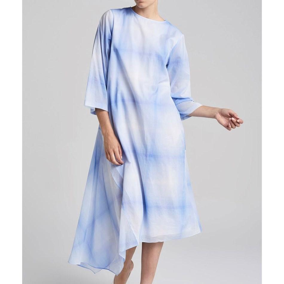 Jac + Jack Florence Dress - moffat blue chk