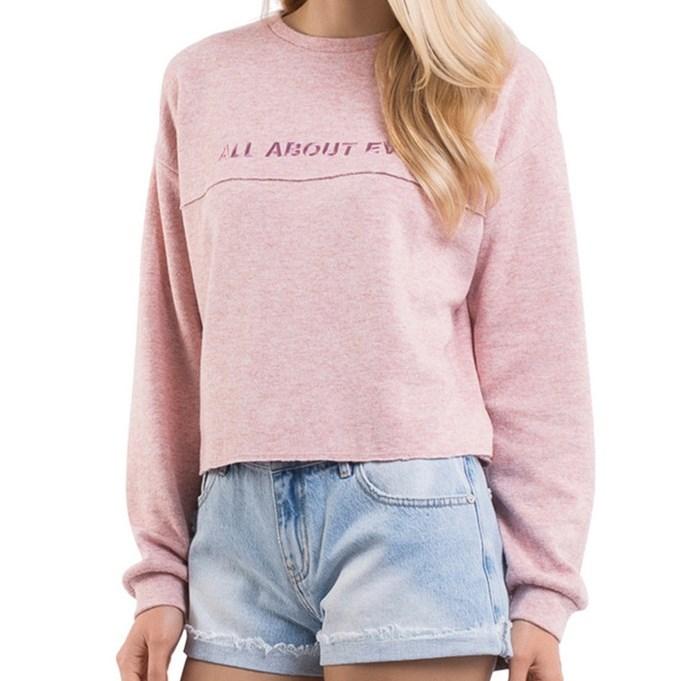 All About Eve Addison Sweat Shirt - pink