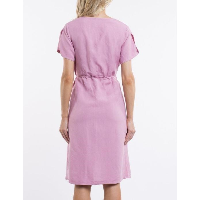 All About Eve Avery Wrap Dress -