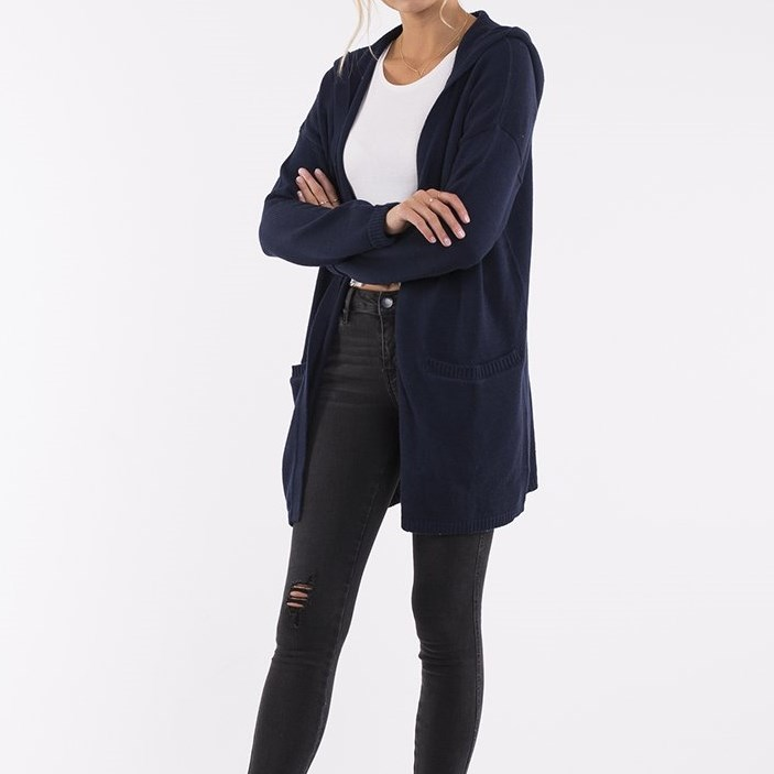 All About Eve Mia Cardigan - navy