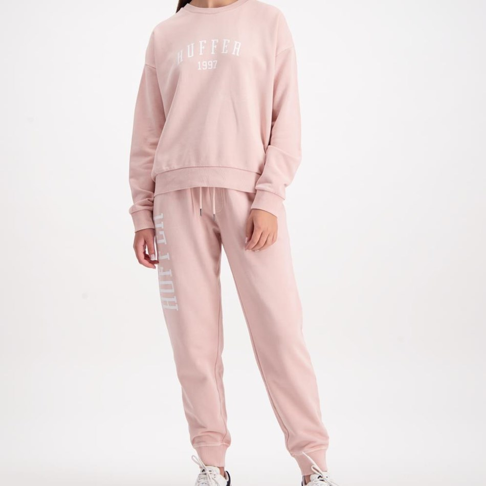 Huffer Slouch Crew / Hfr Colour - dusky pink