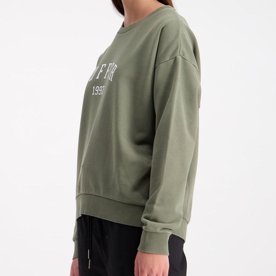Huffer Slouch Crew / Hfr Colour - khaki