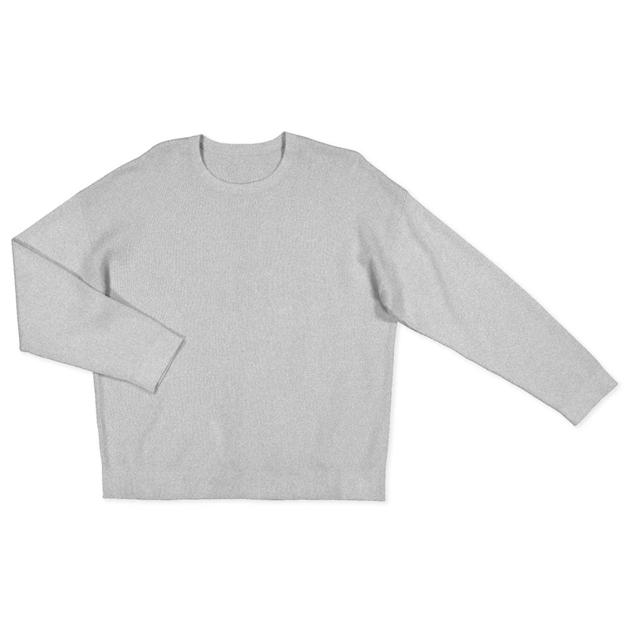 Huffer Neve Knit Crew - grey marle
