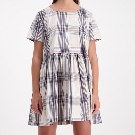 Huffer Checked Park Dress