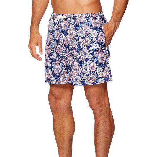 Ben Sherman Floral Print Swim Short