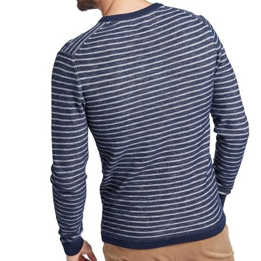 Academy Brand Newport Stripe Crew Knit
