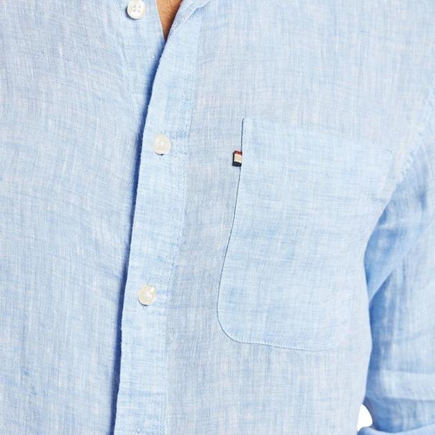 Academy Brand Newport Linen Shirt - chambray