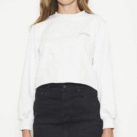 Nana Judy Evelyn Crop Fleece Sweater