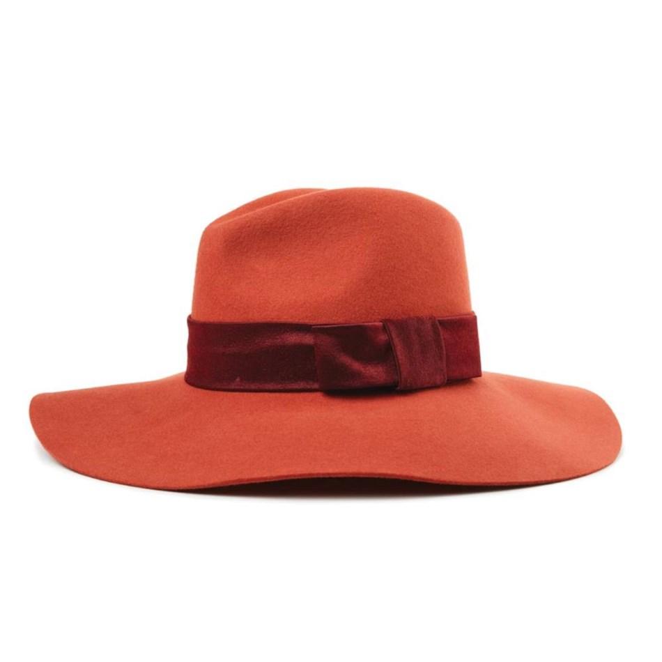 Brixton Piper Hat - henna