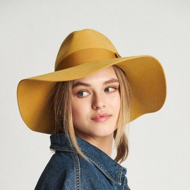 Brixton Piper Hat - nugget gold