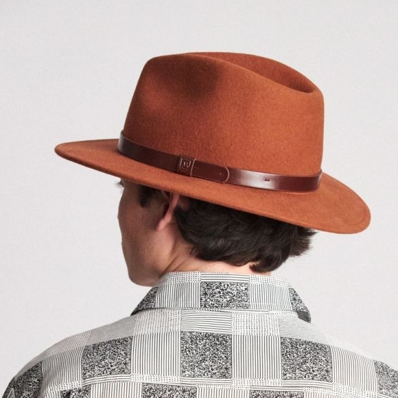 5db550dae59 Hats - Brixton Messer Fedora - Ballantynes Department Store