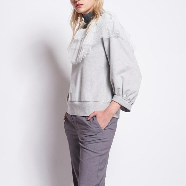 Karen Walker En Passant Sweatshirt - grey marle