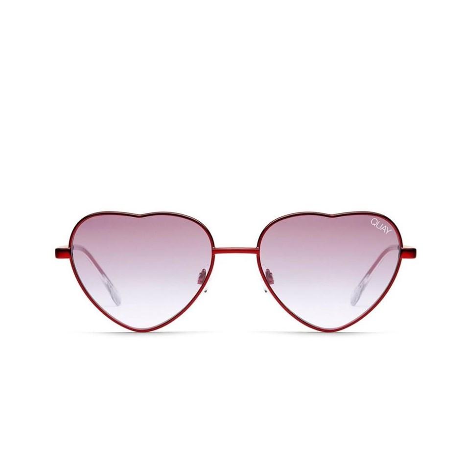 Quay Kim Sunglasses - gold rose