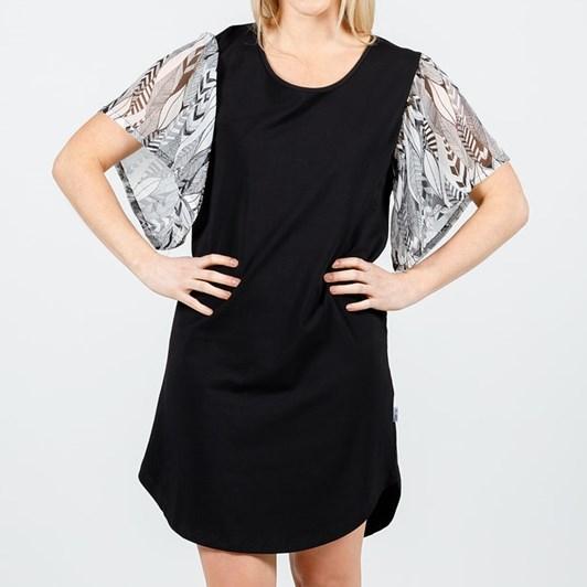 Home-Lee Frill Sleeve Dress