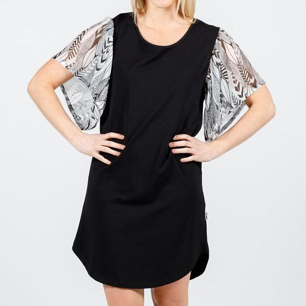 Home-Lee Frill Sleeve Dress -
