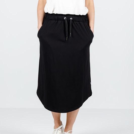 Home-Lee Midi Skirt - X Print