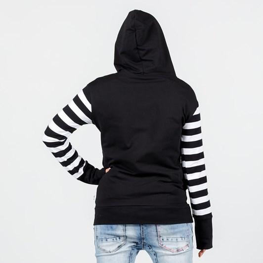Home-Lee Hooded Sweatshirt - X Print
