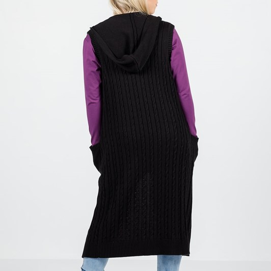 Home-Lee Long Knitted Vest