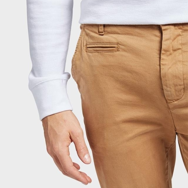 Academy Brand Skinny Stretch Chino - concrete