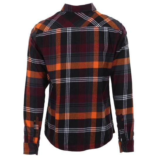 Blend Plaid Shirt