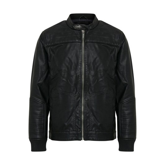 Blend leather Biker