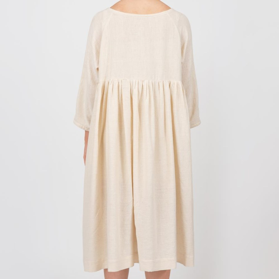 Millie Askew Plough Dress - cream