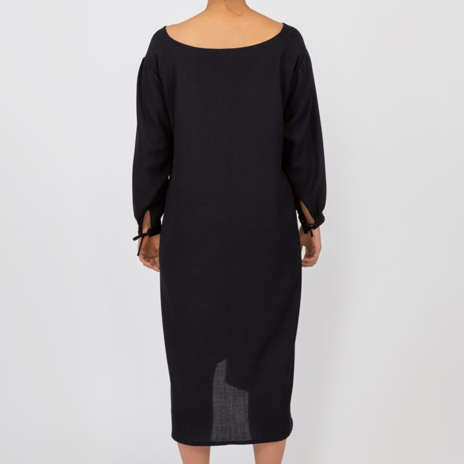 Millie Askew Alfalfa Dress - black