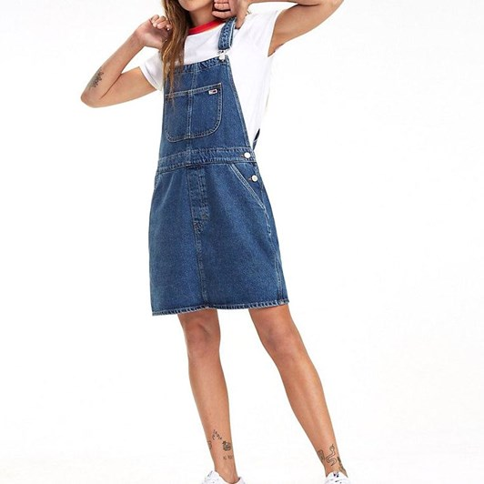 8e9e4f7801f Tommy Jeans Classic Dungaree Dress Prpms ...