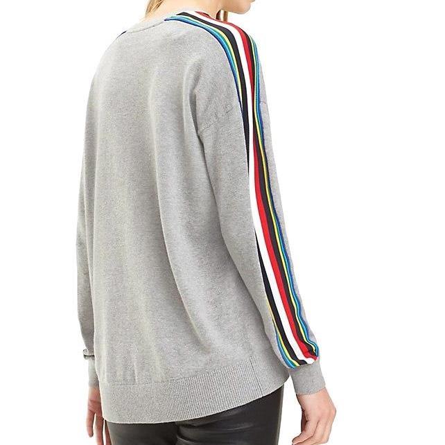 Tommy Hilfiger Jacklyn C-Nk Sweater - light grey htr
