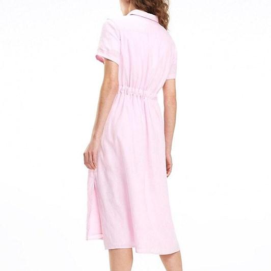 Tommy Hilfiger Linen Midi Dress