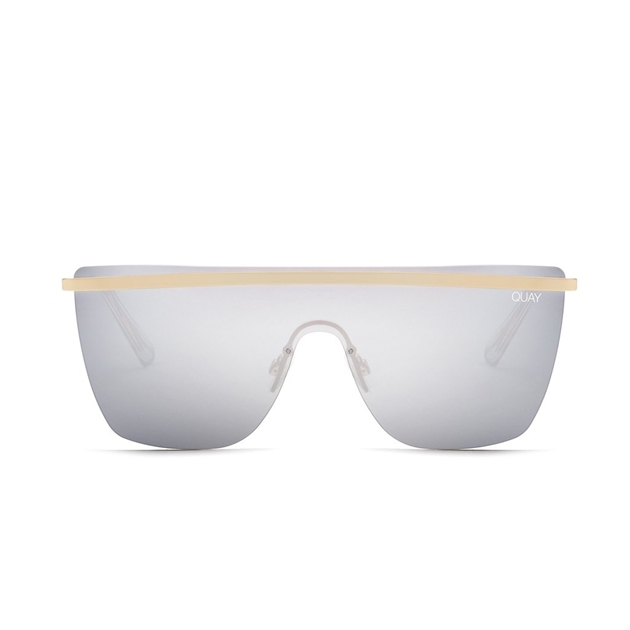 Quay Get Right S/Glasses - gold silver