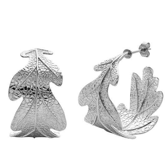 Karen Walker Jewellery Oak Leaf Earrings
