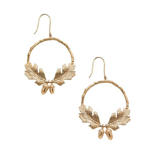 Karen Walker Jewellery Acorn & Leaf Wreath Earrings
