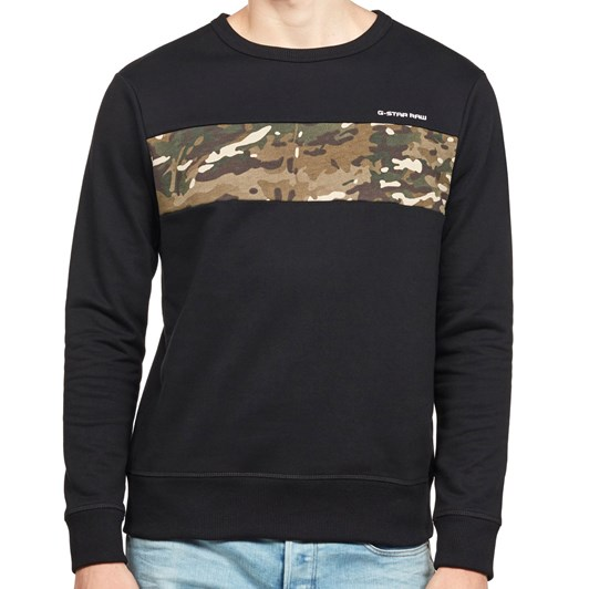 G-Star Core Camo Block Sweat