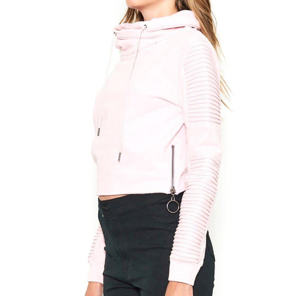 Nana Judy Adeline Crop Sweater - acid pink