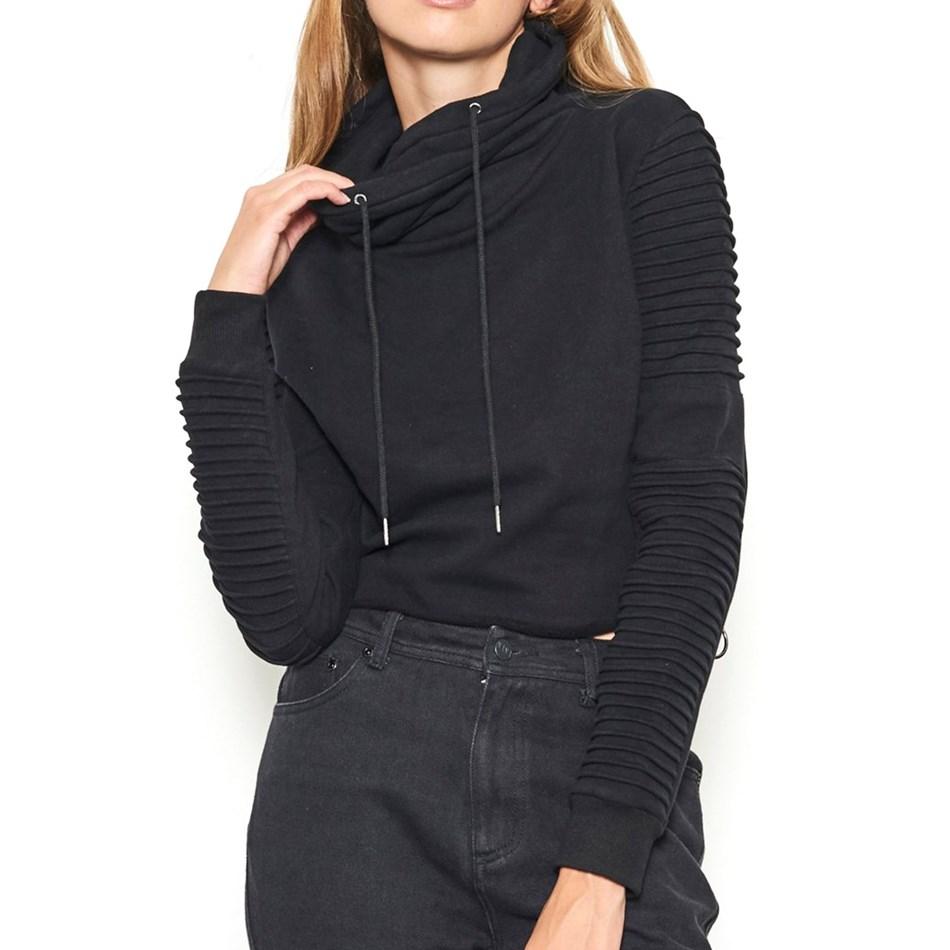 Nana Judy Adeline Crop Sweater - black