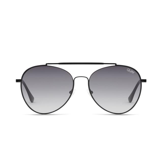 Quay Lickety Split Sunglasses - blk-smkfd
