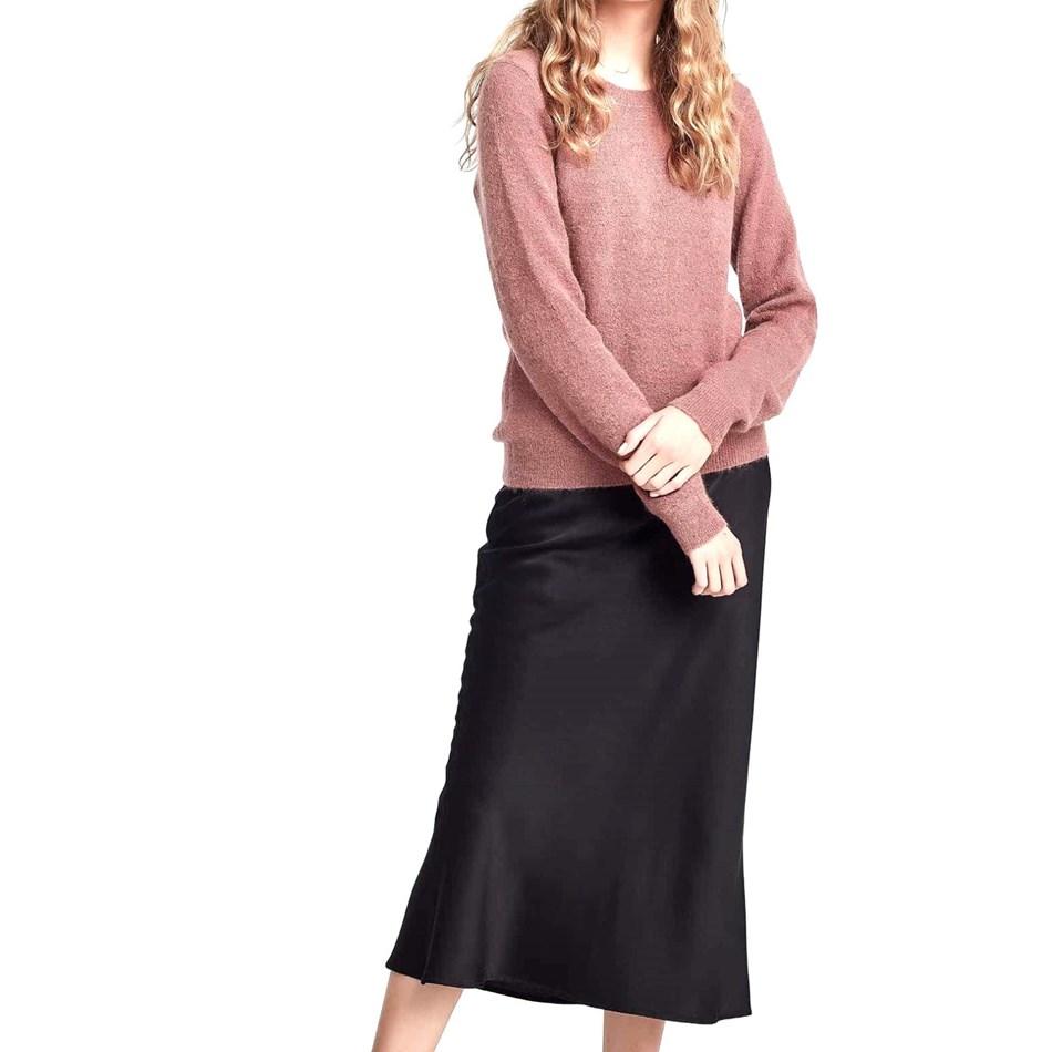 Juliette Hogan Joe Mohair Sweater - rosewood