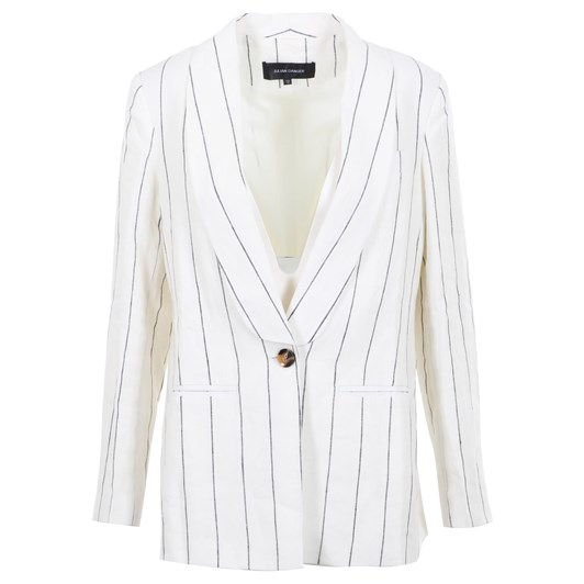 Julian Danger Mary Linen Blazer