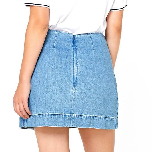 Elwood Cult Denim Skirt