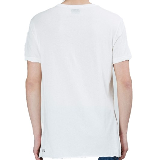 Ksubi Girls S/S Tee - Worn In White