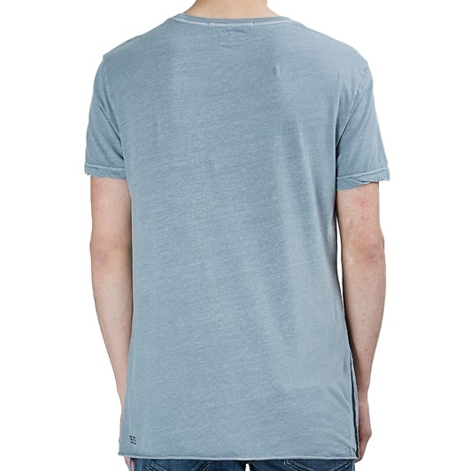 Ksubi Seeing Lines S/S Tee - Ace Blue