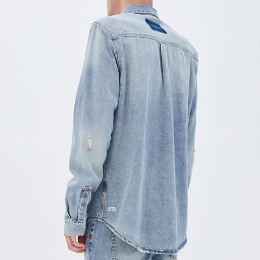 Ksubi Frontier Shirt - Recharge Blue