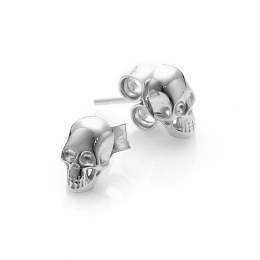 Stolen Girlfriends Club Baby Skull Earrings