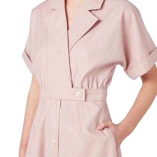 C & M Audrey Belted Shirt Dress